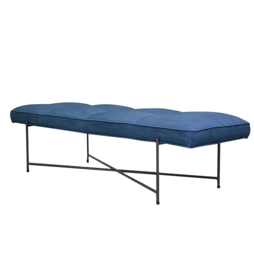 Zacc collection by SEDEC Pipe Bench (Navy Blue) 파이프 벤치 (네이비 블루)