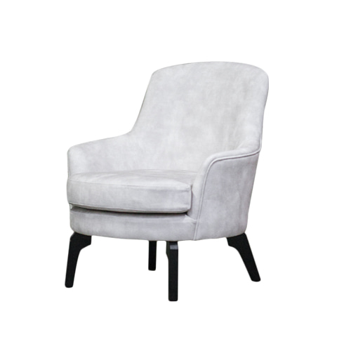 Zacc collection by SEDEC Baba Lounge Chair (Ivory) 바바 라운지 체어 (아이보리)