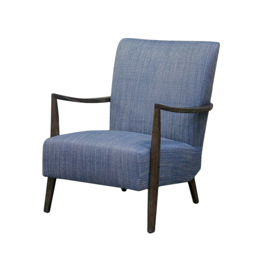 Zacc collection by SEDEC W Lounge Chair (Navy) W 라운지 체어 (네이비)